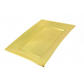 Tacki Plastikowe Złote 330x230mm (360 Sztuk)