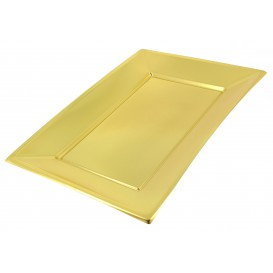 Tacki Plastikowe Złote 330x225mm (120 Sztuk)