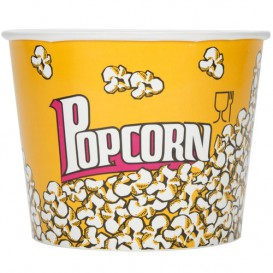 Pudełka na Popcorn 3900ml 18,1x14,2x19,4cm (300 Sztuk)