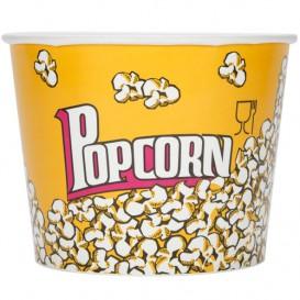 Pudełka na Popcorn 3900ml 18,1x14,2x19,4cm (50 Sztuk)
