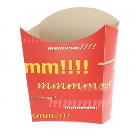 Pudełko na Frytki Małe 8,2x2,2x9cm (25 Sztuk)