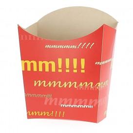 Pudełko na Frytki Średnie 8,2x3,5x12,5cm (25 Sztuk)