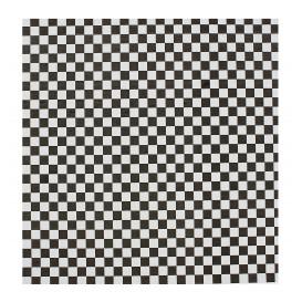 Torebka Tłuszczoodporny Czarni 28x33cm (4000 Sztuk)