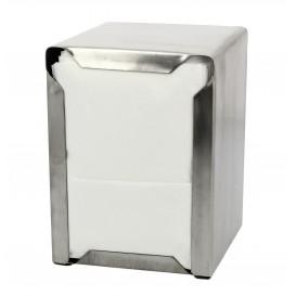 Pojemnik na Serwetki Nierdzewne Mini Serwis 17x17 (12 Sztuk)