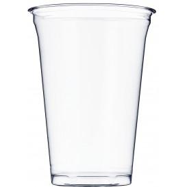 Kubki Plastikowe Sztywni PET 610ml Ø9,8cm (50 Sztuk)