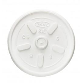 Pokrywka do Szklanki Termiczne Styropianowe EPS Ø8,1cm (100 Sztuk)