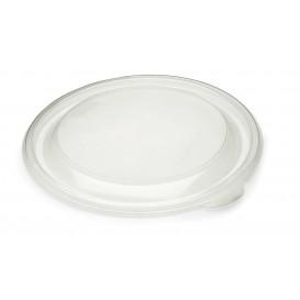 Pokrywka Plastikowe PP Sztywny Przezroczyste Ø19cm (50 Sztuk)