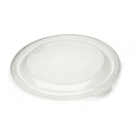 Pokrywka Plastikowe PP Sztywny Przezroczyste Ø23cm (150 Sztuk)