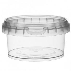 Pojemniki Plastikowe z Pokrywką z Plombą 210 ml Ø9,5 (13 Sztuk)