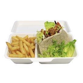 Pudełka na Burgeri 2C Trzciny Cukrowej 240x125x65mm (50 Sztuk)