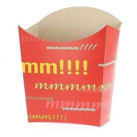 Pudełko na Frytki Średnie 8,2x3,5x12,5cm (500 Sztuk)