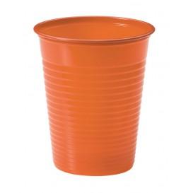 Kubki Plastikowe PS Orange 200ml Ø7cm (50 Sztuk)