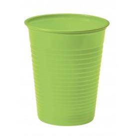 Kubki Plastikowe PS Zielony Limonka 200ml Ø7cm (50 Sztuk)