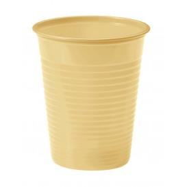 Vaso de Plastico Crema PS 200ml (1500 Uds)