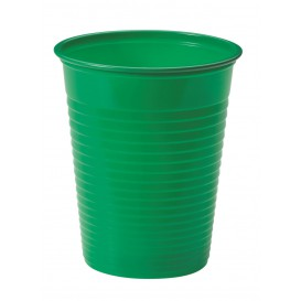 Kubki Plastikowe PS Zielone 200ml Ø7cm (1500 Sztuk)