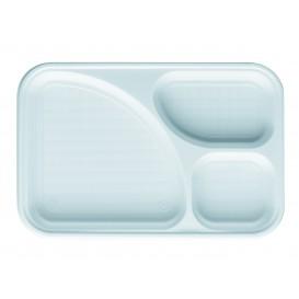 Tacki Plastikowe PS Białe 3C 315x210mm (400 Sztuk)