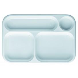 Tacki Plastikowe PS Białe 4C 360x240mm (100 Sztuk)