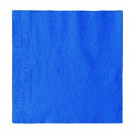 Serwetki Papierowe 2 Warstwy Niebieski Ciemny 33x33cm (1200 Sztuk)