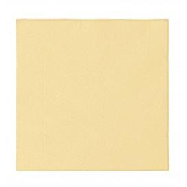 Paper Napkin 2 Layers Crema 33x33cm (50 Units)