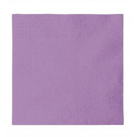 Serwetki Papierowe 2 Warstwy Liliowa 33x33cm (50 Sztuk)
