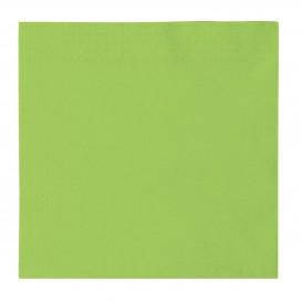Serwetki Papierowe 2 Warstwy Zielony Limonka 33x33cm (50 Sztuk)