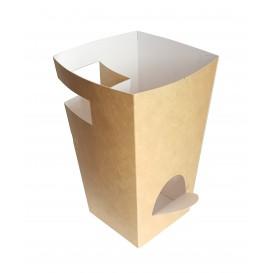 Pudełka Kartonowe na Churros z Czekolada Kraft 78x78x179mm (500 Sztuk)