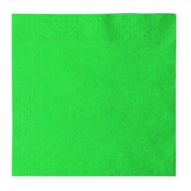 Serwetki Papierowe 2 Warstwy Zielone 33x33cm (50 Sztuk)