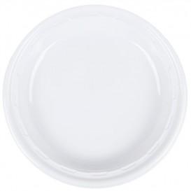"Talerz Plastikowe PS ""Famous Impact"" Białe Ø260mm (125 Sztuk)"