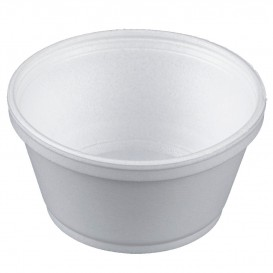 Miski Termiczni Styropianowe Białe 8Oz/240ml Ø11cm (50 Sztuk)