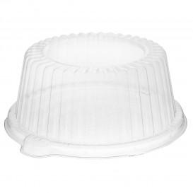 Tapa de Plastico PS Alta Transparente 150x64mm (500 Uds)