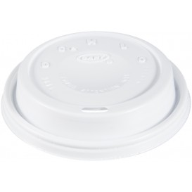 "Pokrywka Plastikowe PS ""Cappuccino"" Białe Ø9,4cm (1000 Sztuk)"