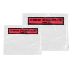 Packing List Envelopes Self Adhesive Printed 2,35x1,75cm (250 Units)