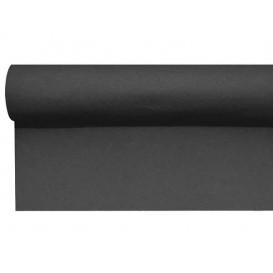 Bieżnik na Stół Airlaid Czarni 0,4x48m 1,2m (6 Sztuk)