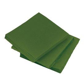 Serwetki Papierowe Micro Dot 20x20cm 2C Zielone (100 Sztuk)
