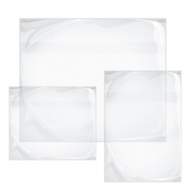Packing List Envelopes Self Adhesive Clear 2,35x1,75cm (1000 Units)