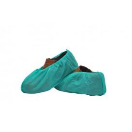 Ochraniacze na buty Polipropylen Zielone (100 Sztuk)