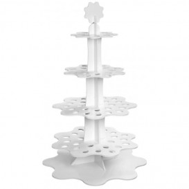 "Display Stand Appetizers and Cones ""Flower"" 75cm (1 Unit)"