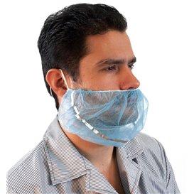 Maska Ochronna Brodę TST Polipropylen Niebieski Detectable (100 Sztuk)