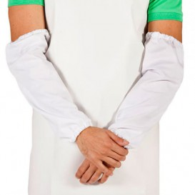 Rękawy Ochronne Polietylenowe 18x44cm G80 Białe (2000 Sztuk)