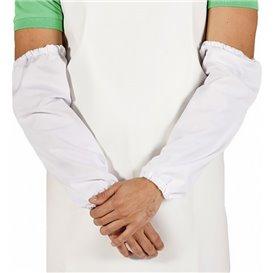 Rękawy Ochronne TST PP Uplastycznianie 25x44cm Białe (50 Sztuk)