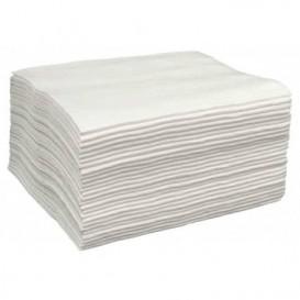 Ręczniki Spunlace Fryzjerskie Białe 40x80cm 50g/m² (25 Sztuk)