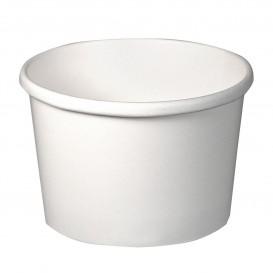 Miski Papierowe Białe 8Oz/237ml Ø9,1cm (25 Sztuk)