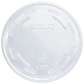 Tapa Cerrada Para Vaso PET Solo Ultra Clear 9Oz Alto y 10Oz (1000 Uds)
