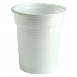Vaso de Plastico PS Blanco 100ml Ø5,7cm (100 Uds)