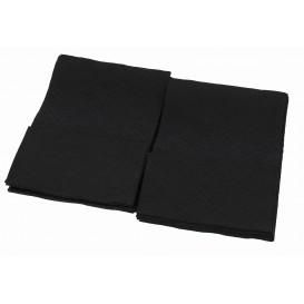 Serwetkis Papierowe Mini Serwis Czarni 17x17cm (160 Sztuk)