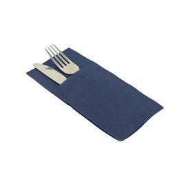 """Pocket Fold Airlaid Napkins """"Kanguro"""" Blue 40x40cm (30 Units)"""
