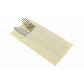 "Pocket Fold Airlaid Napkins ""Kanguro"" Cream 40x40cm (480 Units)"