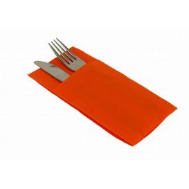 """Pocket Fold Airlaid Napkins """"Kanguro"""" Orange 40x40cm (480 Units)"""