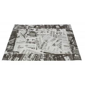 """Podkładki na Stół Papierowe 30x40cm """"Prensa"""" Czarni 50g (500 Sztuk)"""