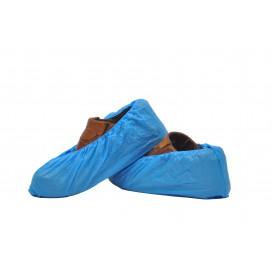Ochraniacze na buty Polietylenowe CPE G160 Niebieski (1000 Sztuk)
